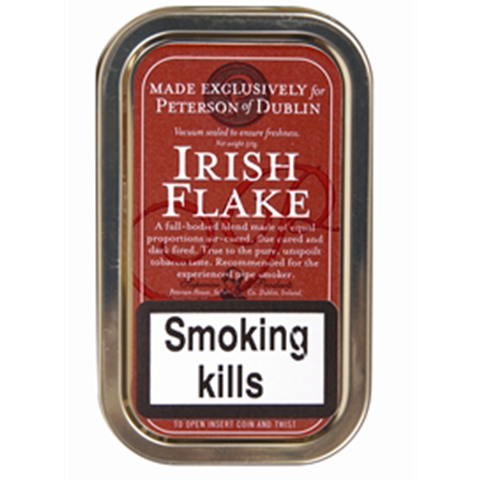 Peterson - Irish Flake - 50g Tin - Tobacco UK