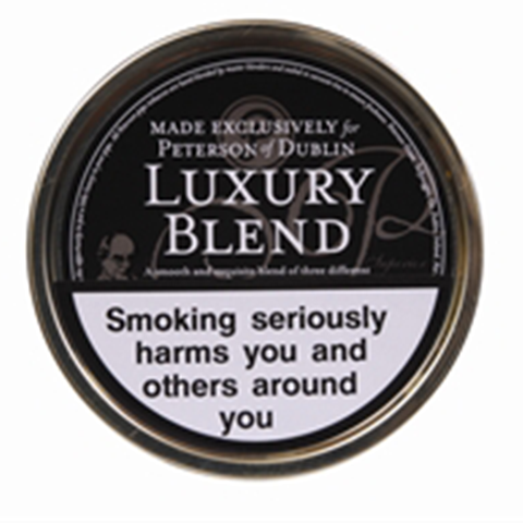 Peterson - Luxury Blend - 50g Tin - Tobacco UK