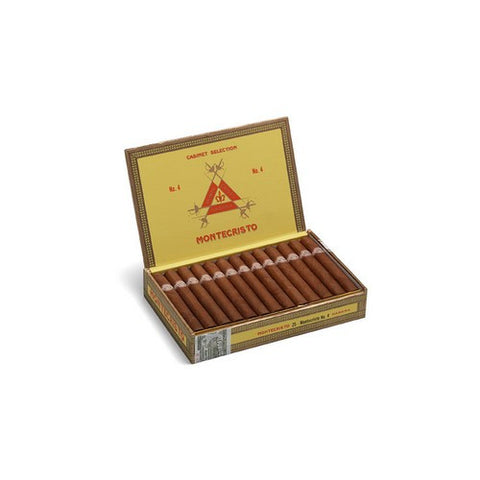 Montecristo - No 4 - Box of 25 - Tobacco UK - 1