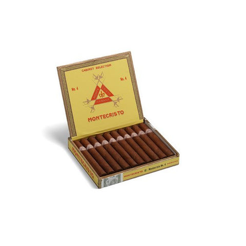 Montecristo - No 4 - Box of 10 - Tobacco UK - 1