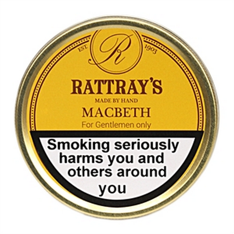 Rattrays - Macbeth  - 50g Tin - Tobacco UK