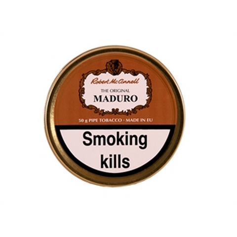 Robert McConnell - Maduro Superb - 50g Tin - Tobacco UK