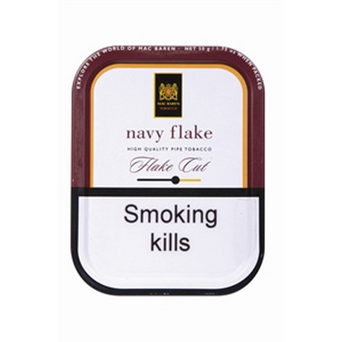 Mac Baren - Navy Flake - 50g Tin - Tobacco UK