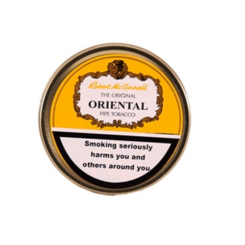 Robert McConnell - Oriental Mixture - 50g Tin - Tobacco UK