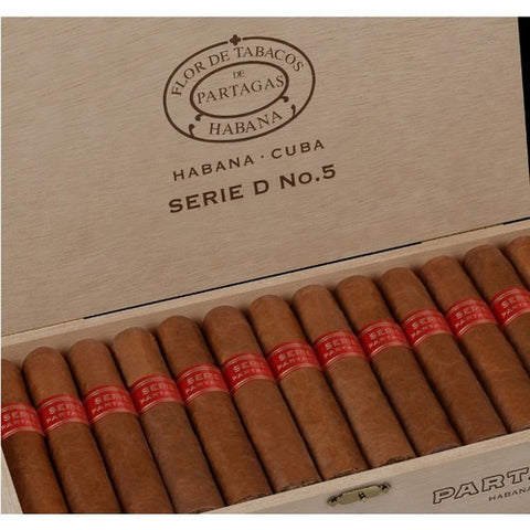 Partagas - Serie D No 5 - Box of 25 - Tobacco UK - 1