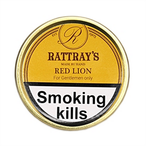 Rattrays - Red Lion - 50g Tin - Tobacco UK