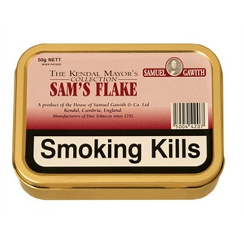 Samuel Gawith - Sam's Flake  - 50g Tin - Tobacco UK