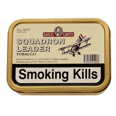 Samuel Gawith - Squadron Leader  - 50g Tin - Tobacco UK