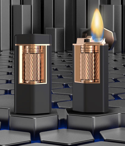 Xikar Meridian triple soft flame lighter