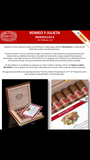 Romeo y Julieta Maravilla special Chinese 2020 New Year Limited edition
