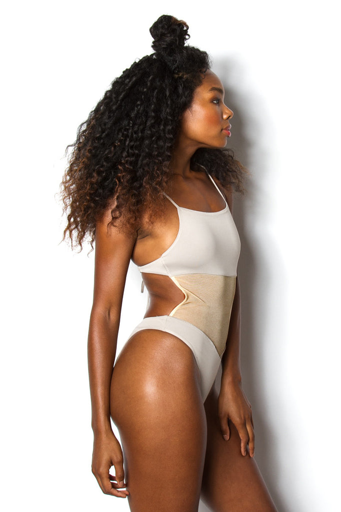 Thea One-Piece - Stone