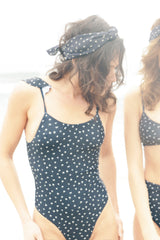 Stans One-Piece - Navy Ditsy