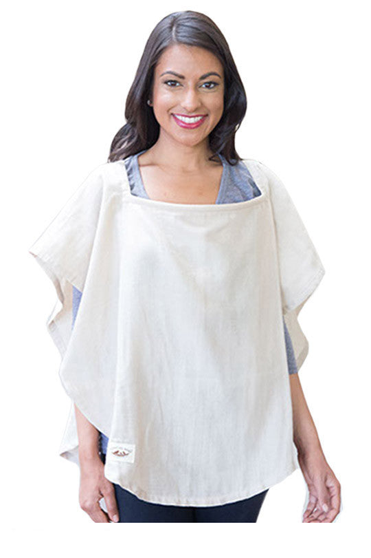 Organic Nursing Cover Beige Oval