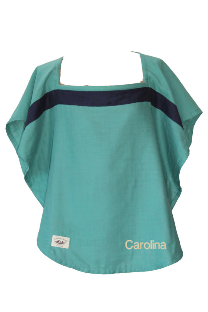Personalized Organic Nursing Cover Fiji Oval