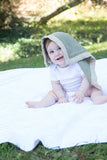 Security Blanket - Organic Lovey Blanky™ Olive/Beige