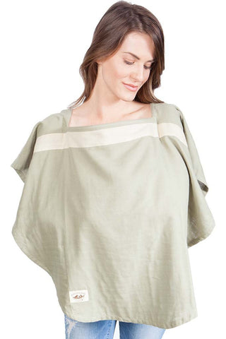 Organic Nursing Cover Sonoma Oval