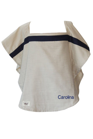 Personalized Organic Nursing Cover Newport Oval