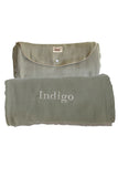 Personalized Baby Blanket - Organic Roly Blanket™ Olive Green/Beige