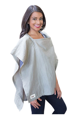 Organic Nursing Cover Olive Square