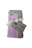 Security Blanket - Organic Lovey Blanky™ Pink/Beige