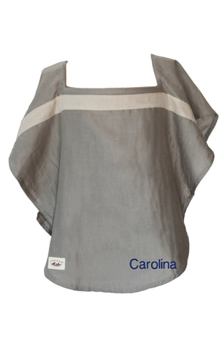 Personalized Organic Nursing Cover Sonoma Oval