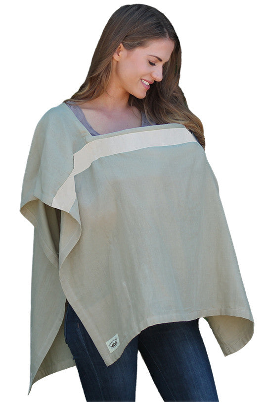 Organic Nursing Cover Sonoma Square