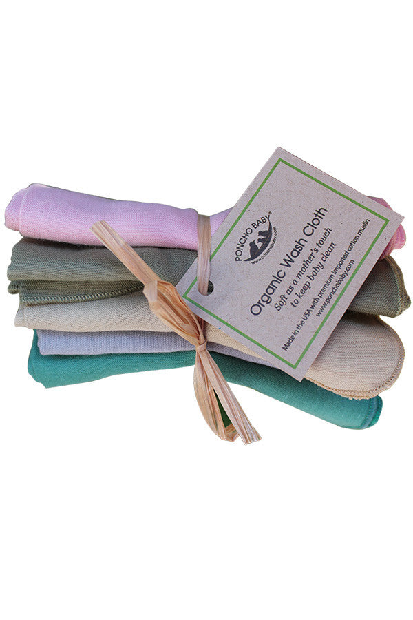 Organic Washcloth - Girl Bundle