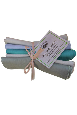 Organic Washcloth - Neutral Bundle