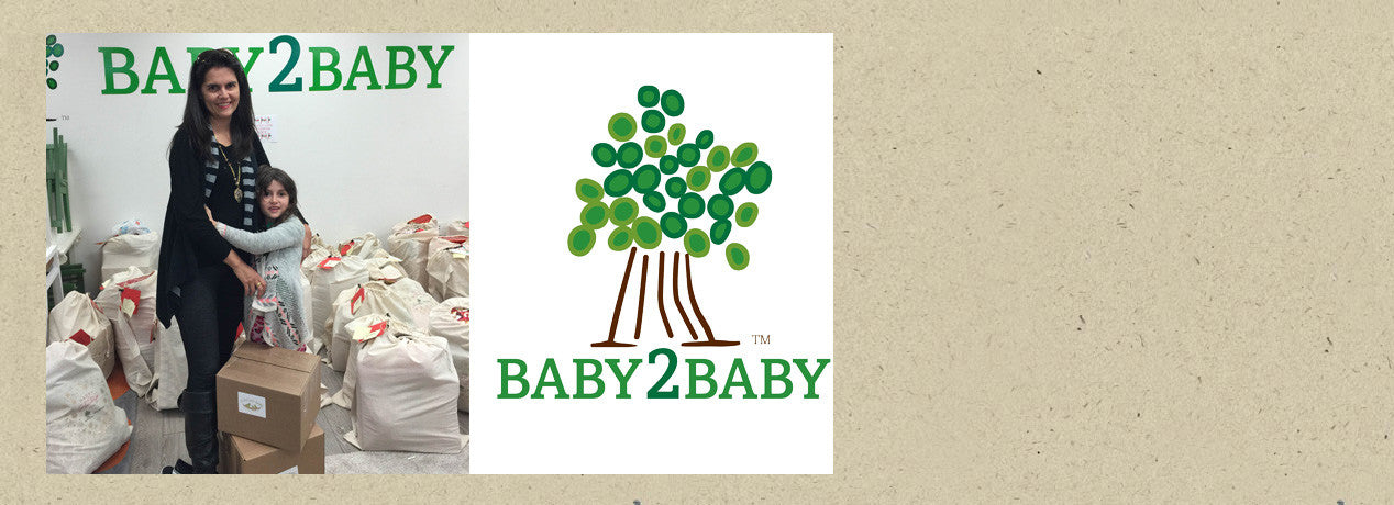<h2>Support Low Income Children</h2><p>Proud Sponsor of Baby2Baby</p><h3>SHOP NOW ></h3>