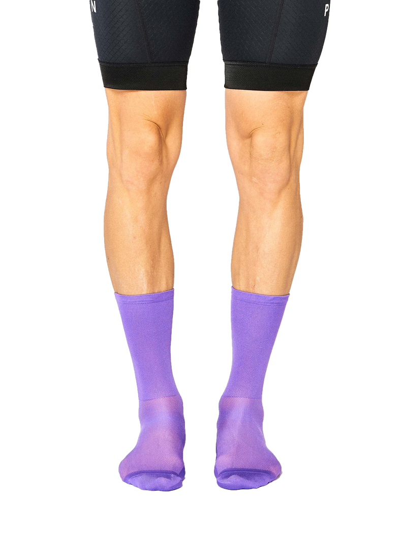 FINGERSCROSSED classic lilac cycling socks