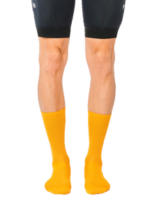FINGERSCROSSED classic old gold cycling socks