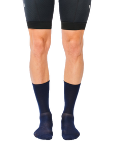FINGERSCROSSED classic navy cycling socks