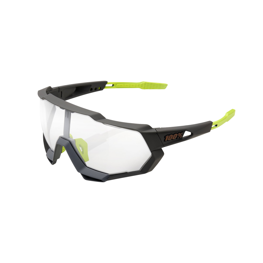 100% SPEEDTRAP Soft Tact Cool Grey Photochromic Lens