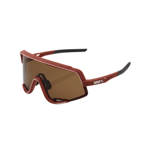 100% GLENDALE Soft Tact Bordeaux Soft Bronze Lens