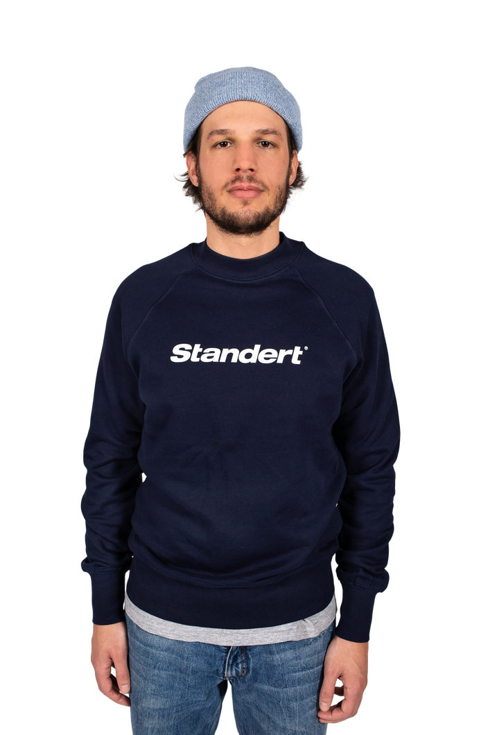 Standert Sweatshirt | Performance Logo | navy