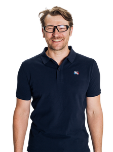 Standert Polo Shirt | Bike Logo Embroidered | navy - Standert Bicycles