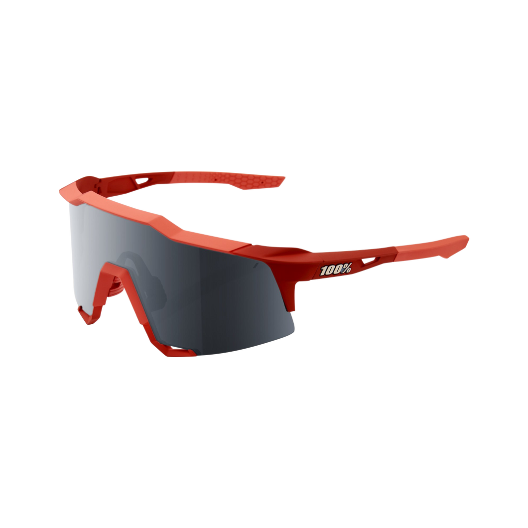 100% SPEEDCRAFT TALL Soft Tact Coral Mirror Lens