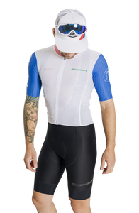 Standert Cycling Kit | Mens Light Weight Jersey | White