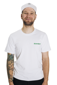 Standert T-Shirt | Performance Logo | green embroidery