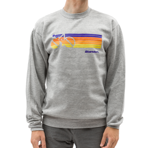 Standert Sweatshirt | Sprint | purple/orange/yellow