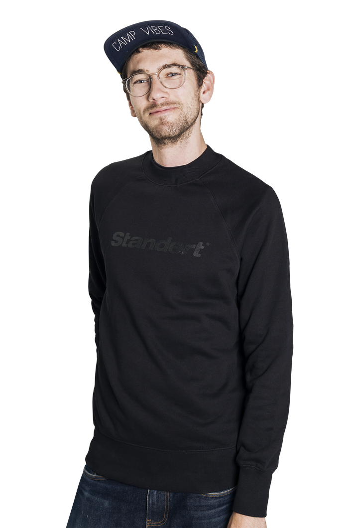 Standert Sweatshirt | Performance Logo | black on black