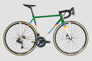 Triebwerk LTD Steel Disc Road Bike