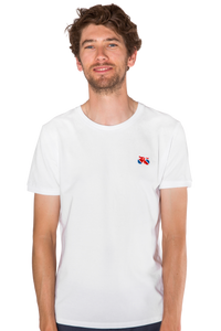 Standert T-Shirt | Bike Logo Polo | white