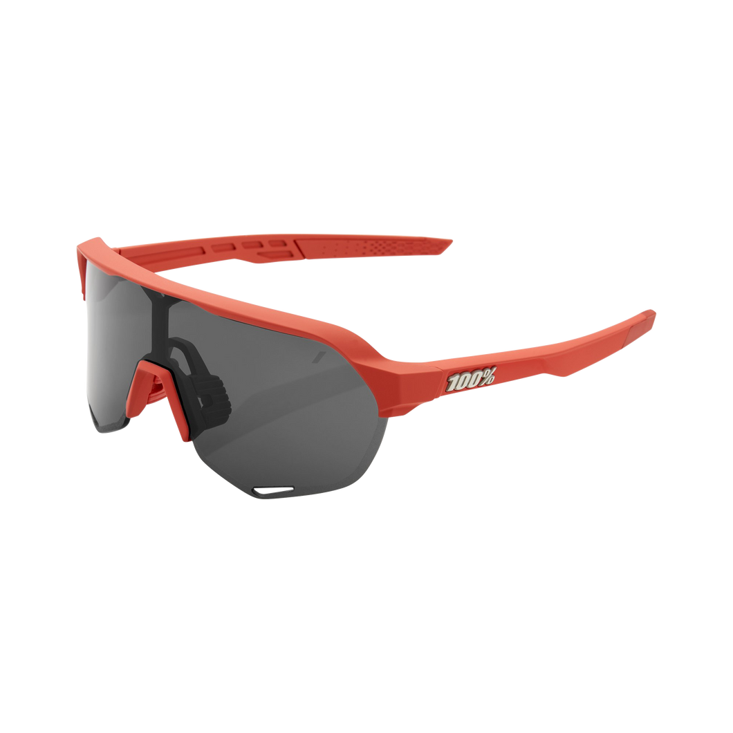 100% S2 Soft Tact Coral Smoke Lens - Standert Bicycles