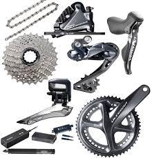 *Not available until September 2020 Shimano Ultegra Di2 Disc Kreissäge RS Groupset (5236 11-28)
