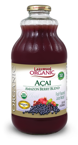Organic Acai Amazon Berry Blend (32 oz, 6 pack)