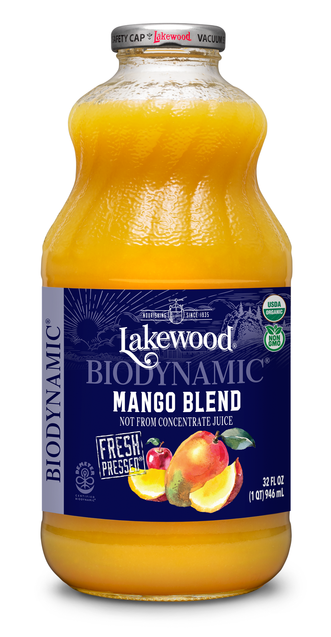 Biodynamic® Organic Mango Blend (32 oz, 6 pack)