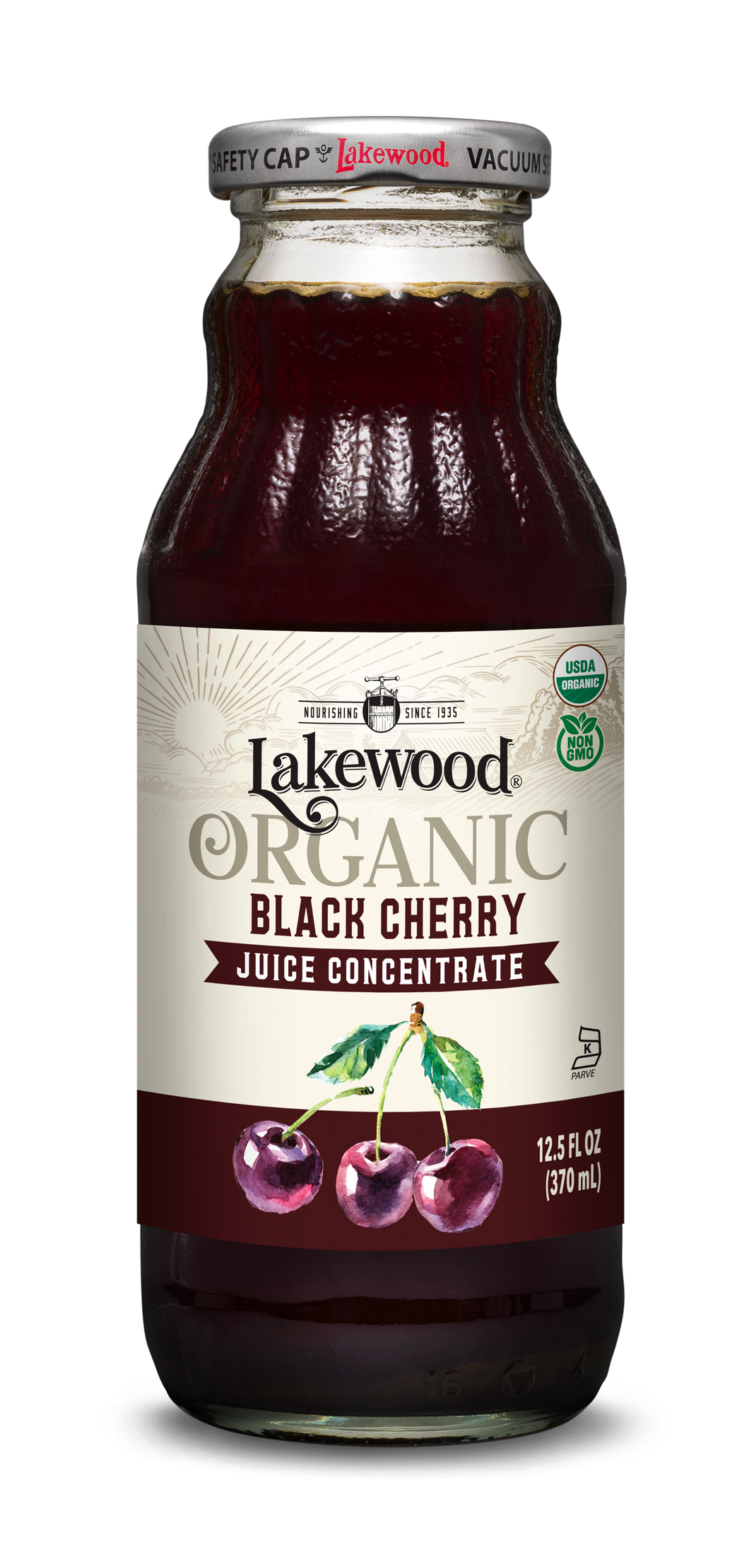 Organic Black Cherry Concentrate (12.5 oz, 6 pack)