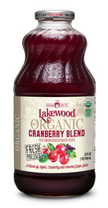 Organic Cranberry Blend, (32 oz, 6 pack)