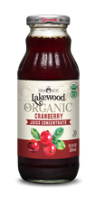 Load image into Gallery viewer, Organic Cranberry Concentrate (12.5 oz, 6 pack)